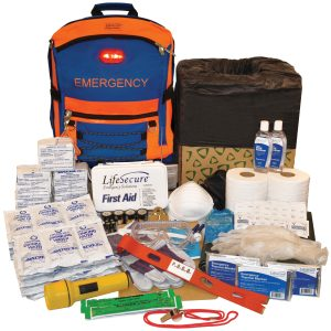 SECUREVAC 30-PERSON EVACUATION & SHELTER-IN-PLACE SURVIVAL KIT10800
