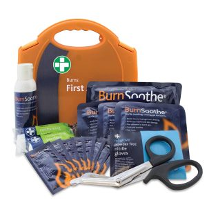 Burns First Aid Kit in Red Aura Standard Box124