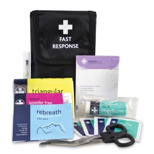 Fast Response Kit in Black Belt Wallet132