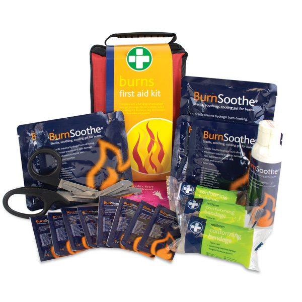 Burns First Aid Kit Stockholm Bag 20cmH x 14cmW x 8cmD142