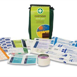 Overseas First Aid Kit in Helsinki Bag154