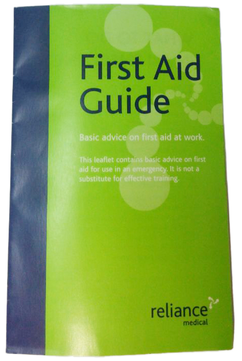Reliance First Aid Guidance leaflet1