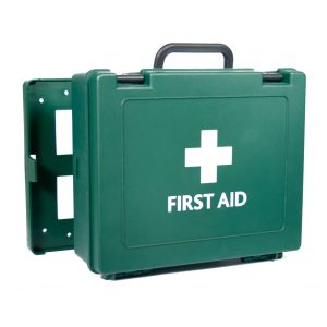 Oxford HS3 First Aid  Box Green empty green203