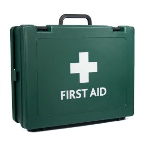 Cambridge HS4 First Aid Box empty Green204
