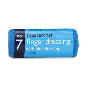 Blue Finger Dressing2434