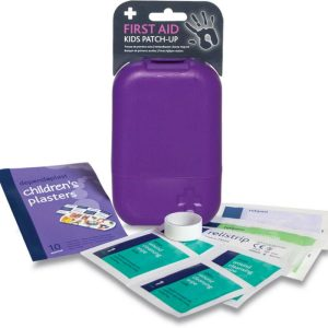 Kids patch up First Aid Kit in Small Purple Tbula Box2647-ARA