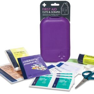 First Aid Cuts & Scrapes Hardcase (35 items)2666