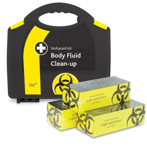 2 Application body fluid clean up kit2717