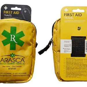 Travel First Aid kit in Large Yellow Borsa Bag2751-ARA