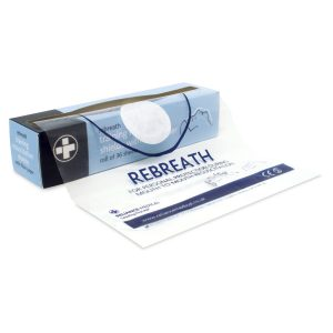 Rebreath Training Resuscitation Face Shields with Filter Paper Roll of 362851