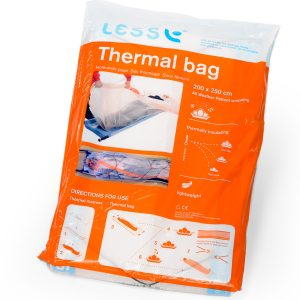 Thermal bag: To further insulate the patient from hypothermia and reduce effects of shock.3010