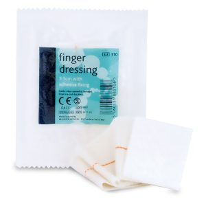 Finger Dressing with adhesive fix 3.5cm310