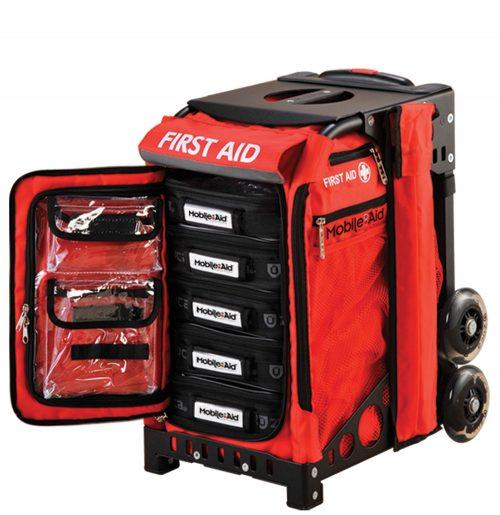 MobileAid Hi-Vis Pro 200 Easy-Roll Trauma First Aid Station31570