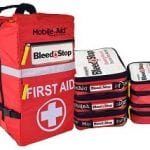 Bleedstop Reflex MULTIPLE-CASUALTY 100 Bleeding Wound Trauma First Aid Backpack32732