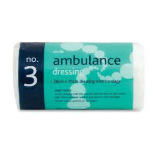 No.3 Ambulance dressing sterile333-AR