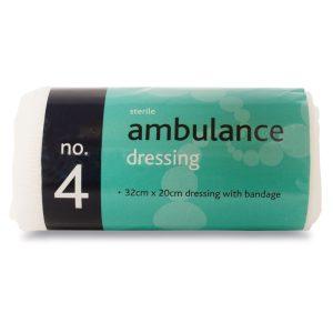 No.4 Ambulance dressing sterile334-AR