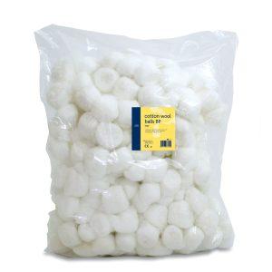 Cotton wool balls BP Large pk 250356