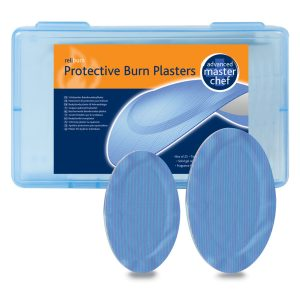BLUE ADVANCED BURN PLASTERS- Box of 25410