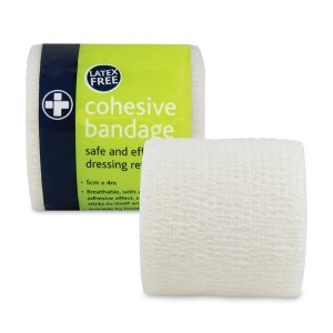 Cohesive Bandage  Latex Free 5cm x 4m435