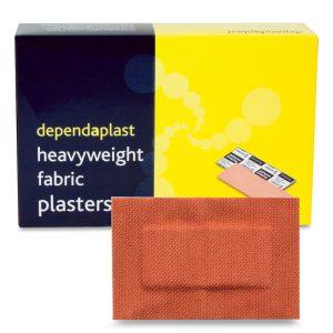 Dependaplast Fabric Plasters 7.5cm x 5cm Box of 50515