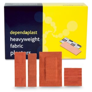 Dependaplast Fabric Plasters Assorted Box of 100516