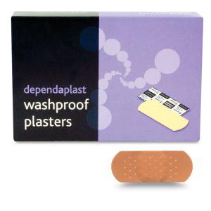Dependaplast Washproof Plasters 4cm x 2cm Box of 100530
