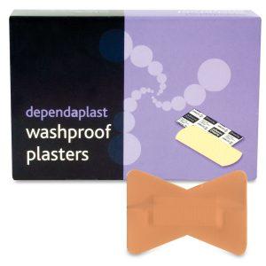 Dependaplast Washproof Plasters Fingertip Box of 50538