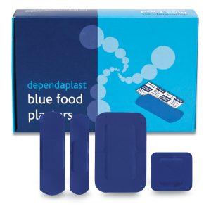Dependaplast Blue Food Area Assorted Box of 100546