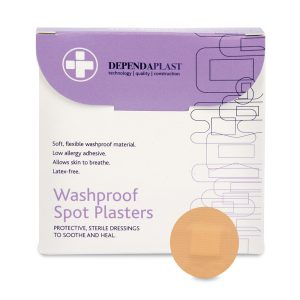 Dependaplast Washproof Plasters Spot 2.2cm pack of 10550K-10