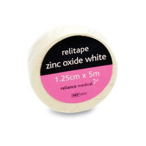 Relitape Zinc Oxide Plaster Tape 5cm x 5m605