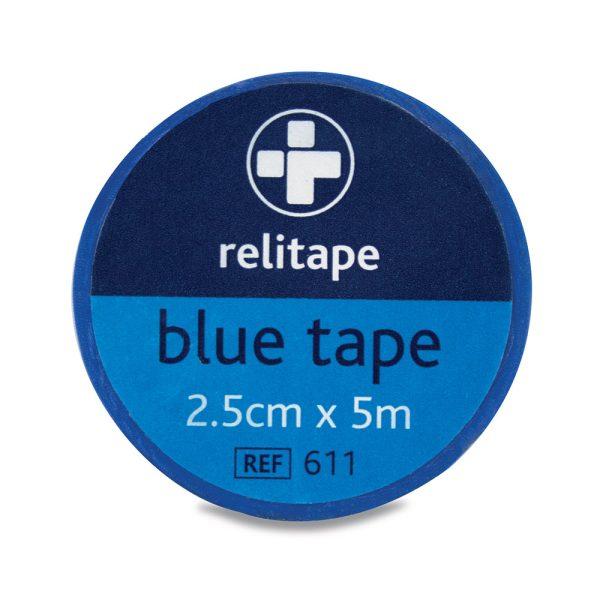 Relitape washproof blue tape 2.5cm x 5m611