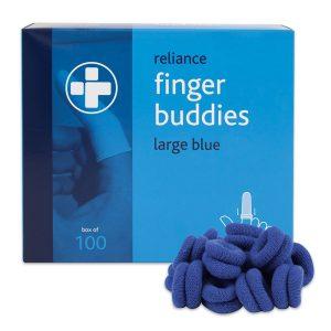 Finger Buddies Blue Large