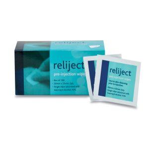 Reliject pre-injection swabs-single742K
