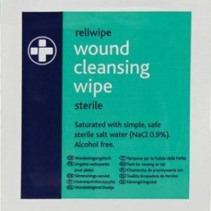 Reliwipe Moist Saline Cleansing Wipes