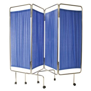 RELIQUIP MEDICAL SCREEN 4 FLDNG WT CURTAIN180X240CM7552