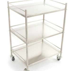 RELIQUIP SURGICAL INSTRUMENT TROLLEY 90X45X62CM7553