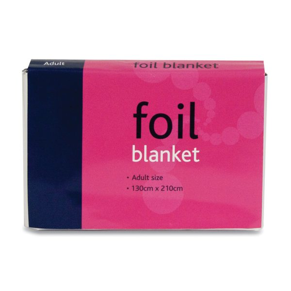 Adult Foil Blanket 130cm x 210cm760