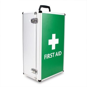 Aluminium First Aid Box empty7729