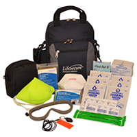 Personal Grab-and-Go Fire Evacuation and 3-Day Emergency Kit80020