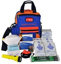 "SecurEvac Hi-Visibility Sling-and-Go 3-DAY Emergency Kit with ""Rescue-Me"" Flashing Safety Signal80800"