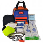 SecurEvac Hi-Vis Fire Evacuation and 3-DAY Emergency Kit80820
