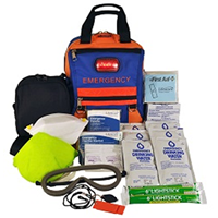 SecurEvac Hi-Vis Fire Evacuation and 3-DAY Emergency Kit80820