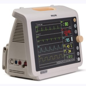 Philips Sure Signs VM8 Transport Patient Monitor with ECG Analysis