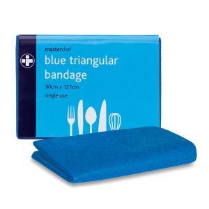 Blue Ttriangular bandage941