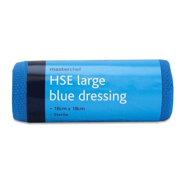 Blue Large HSE Dressing 18cm x 18cm943