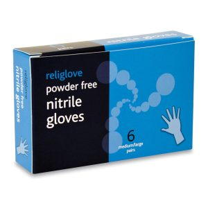 NITRILE GLOVES BOXED 6 PAIRS947