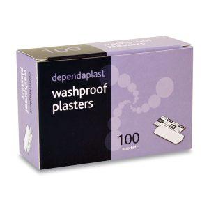 DEPENDAPLAST WASHPROOF PLASETERS ASSORTED PK 100948