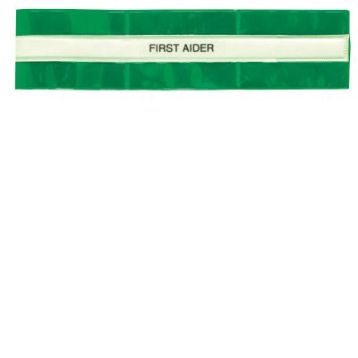 First Aider Armband (Green)B01121