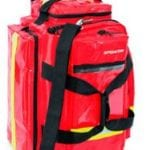 R-aid Trolley Pro Made in Red PVC with Pouches- EmptyCB04171
