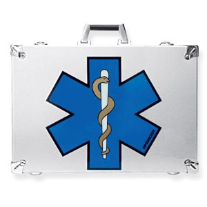 Lienz Krone Reinforced aluminium case for resuscitation equipment complete adultCB06018 A
